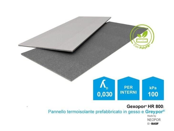 Pannello prefabbricato termoisolante Gexo Gexopor 30 - Lape HD