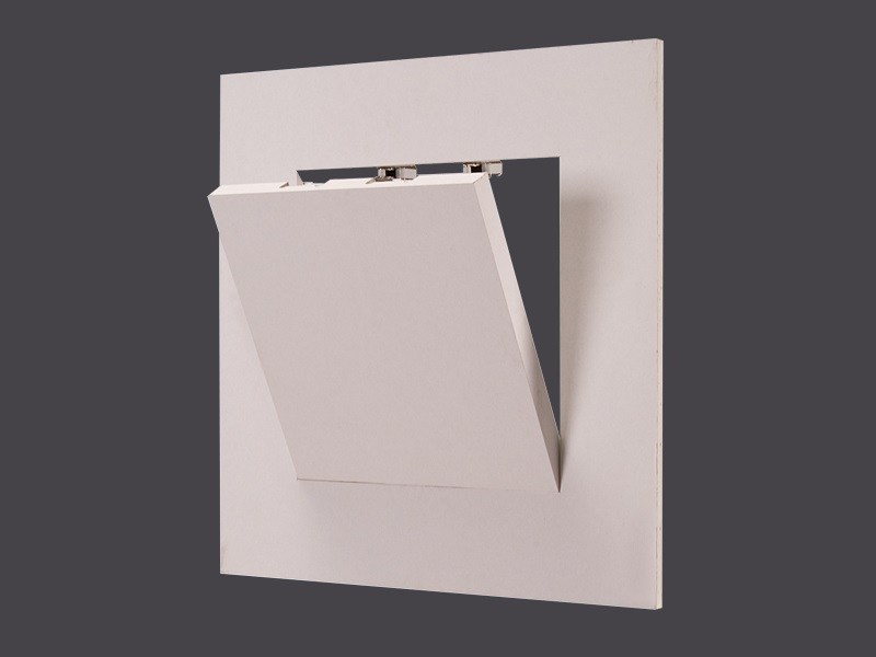 Hatch doors in Plasterboard for false ceilings and doors GHOST HATCH DOORS WITH CLICK OPENING180° - Gyps