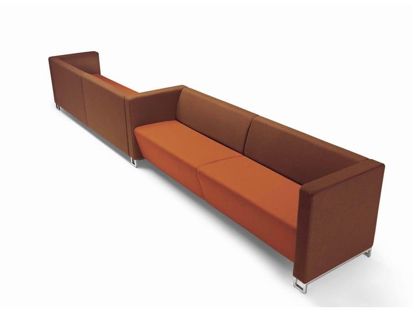 Fabric sofa Giano - Metalmobil