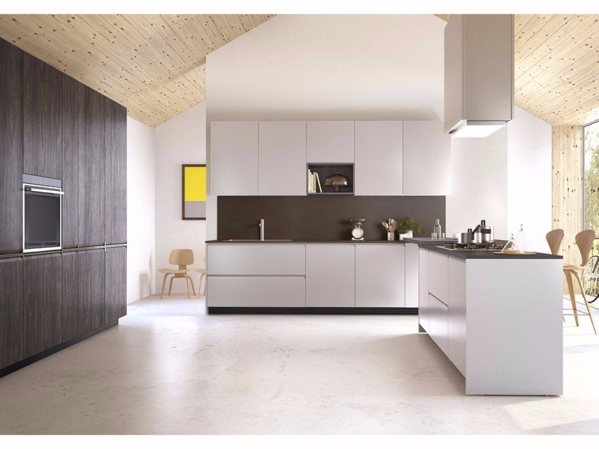 Kitchen with integrated handles GIBILTERRA | Kitchen with integrated handles - Del Tongo