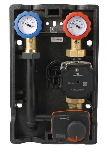 Heat regulation and hygrometric control Gruppo di miscela GM PF-CF by RDZ