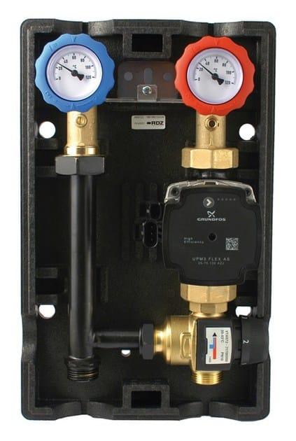 Heat regulation and hygrometric control Gruppo di miscela GM PF by RDZ