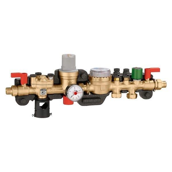 Special bathroom component and anti-flooding device Gruppo riempimento e demineralizzazione by CALEFFI