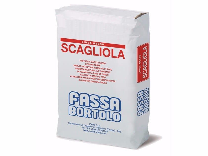 Gypsum plaster Gypsum based plaster by FASSA