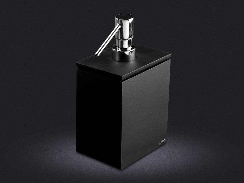 Dispenser di sapone liquido in resina H | Dispenser di sapone liquido - Vallvé Bathroom Boutique