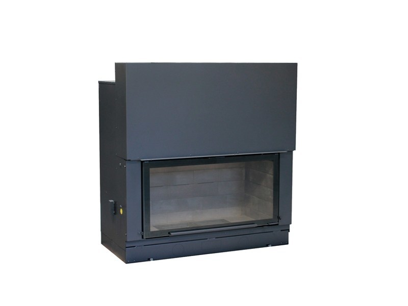 Wood-burning Fireplace insert H1400 by Axis