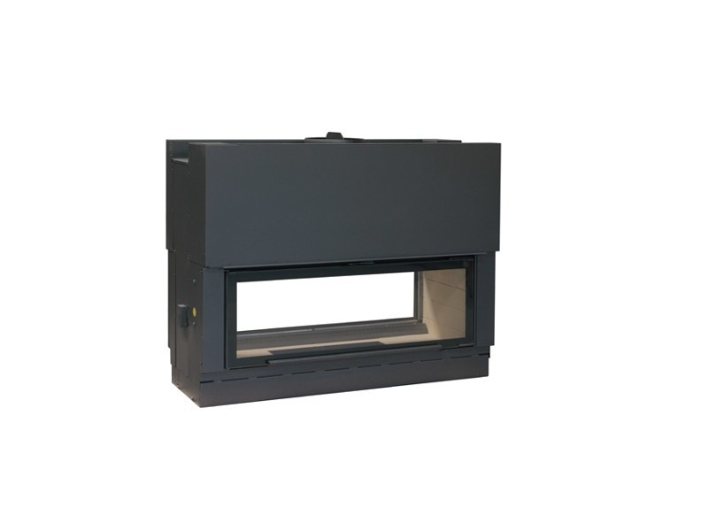Double-sided Fireplace insert H1600DF - Axis