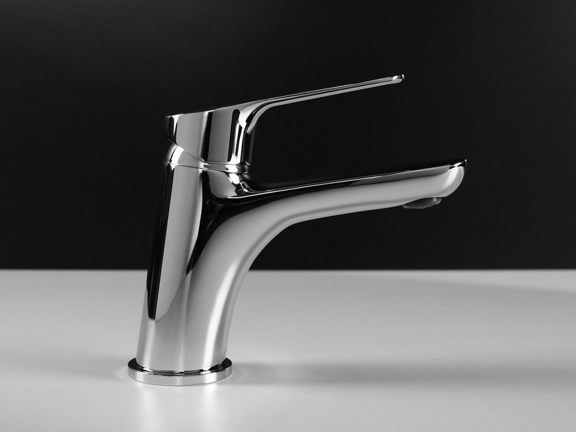Hydroprogressive washbasin mixer without waste H2OMIX 4000 by Gattoni Rubinetteria