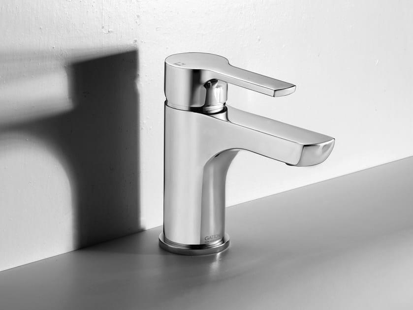 Hydroprogressive washbasin mixer without waste H2OMIX 5000 by Gattoni Rubinetteria