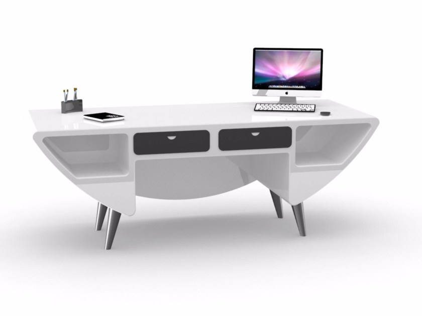 Adamantx® office desk with drawers H915 - ZAD ITALY