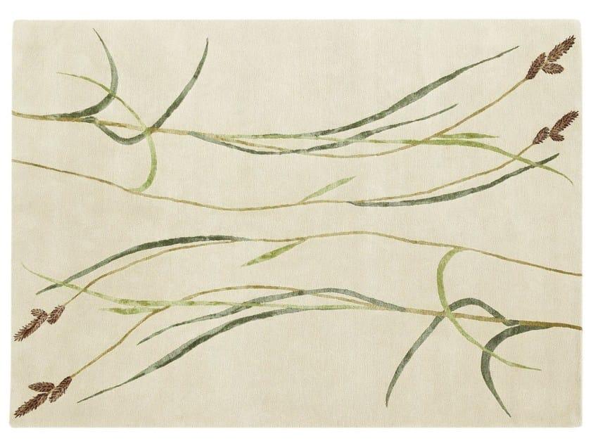 Handmade rug HAIRY SEDGE by Deirdre Dyson