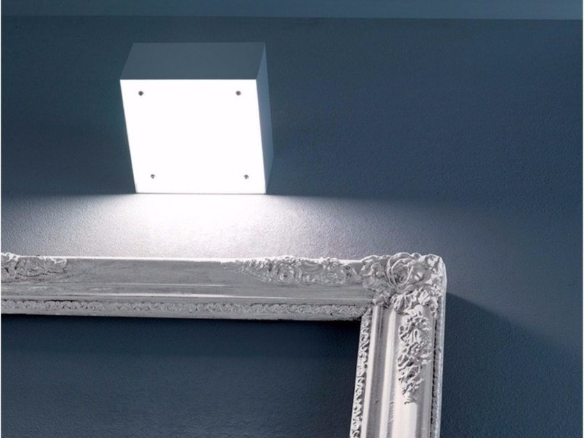 Halogen glass and metal wall lamp HAKO 1 - DAVIDE GROPPI