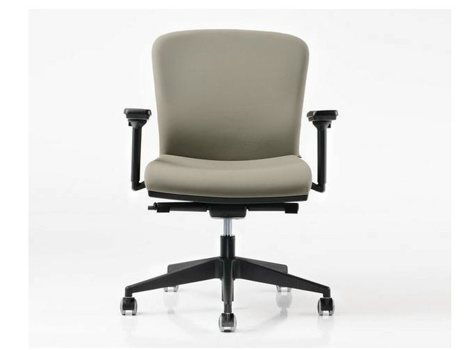 Task chair with 5-Spoke base with armrests HALFPIPE | Task chair with 5-Spoke base - D.M.