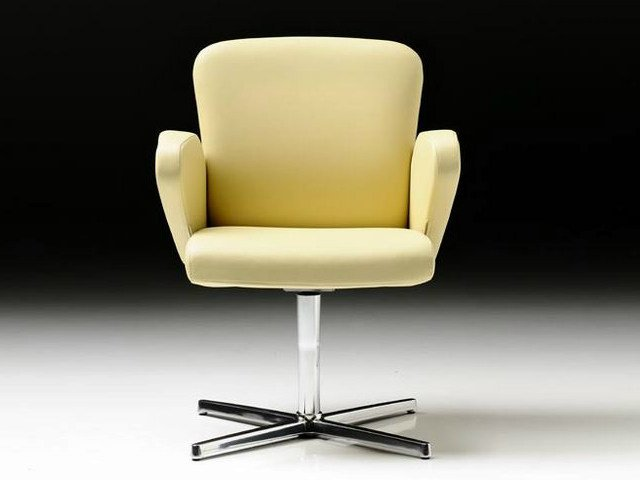 Executive chair with 4-spoke base with armrests HALFPIPE | Executive chair with armrests - D.M.
