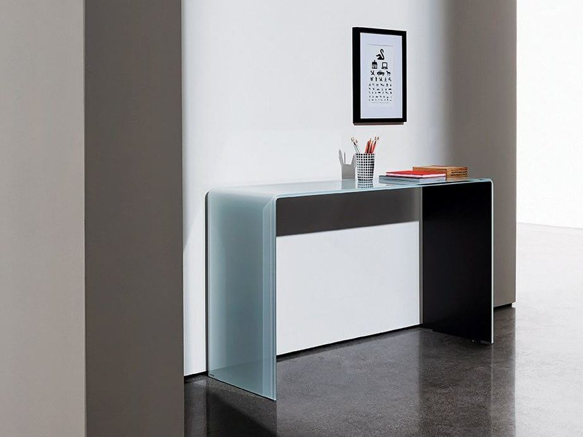 Rectangular crystal console table HALL by Sovet italia