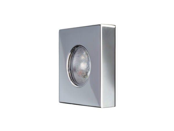 LED stainless steel floor light HALLIE - Quicklighting
