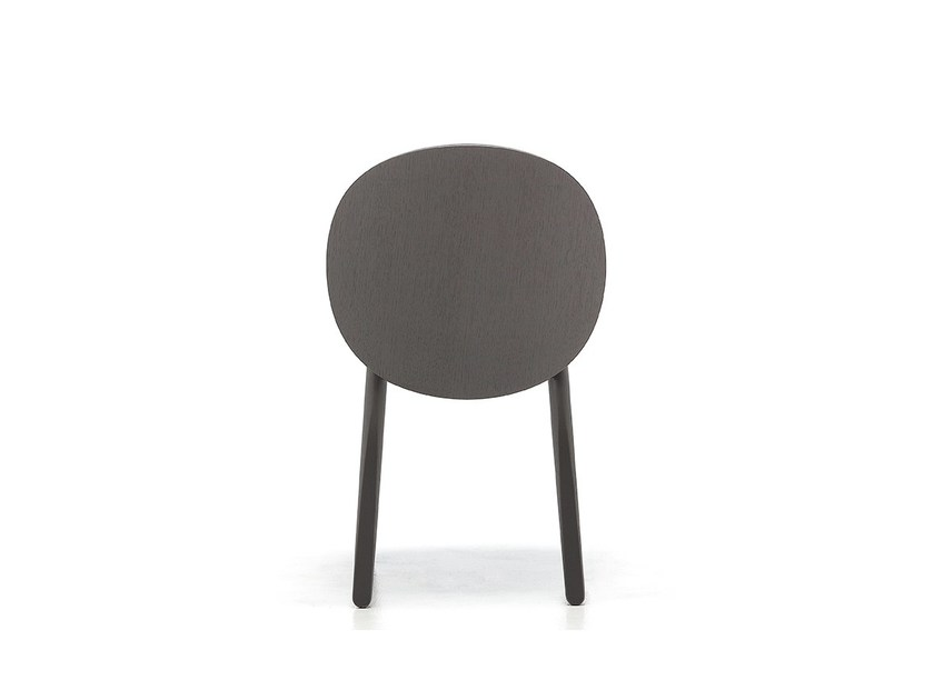 Contemporary style upholstered stackable ash restaurant chair HALO 01 | Chair - Very Wood