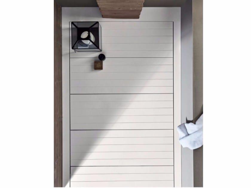 Built-in Corian® shower tray HAMMAM | Shower tray by Rexa Design