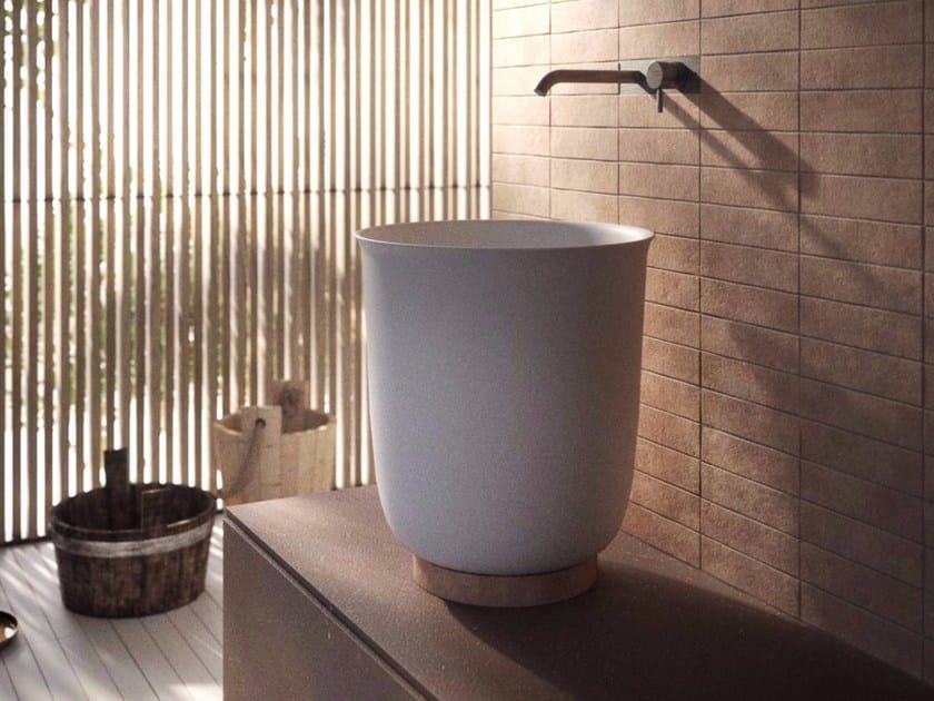 Lavabo da appoggio in Korakril™ HAMMAM | Lavabo by Rexa Design