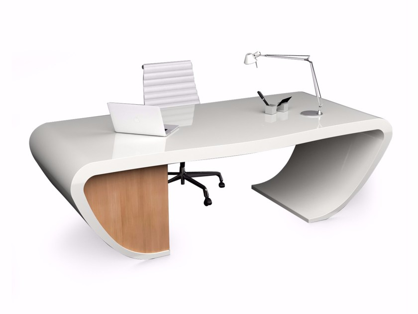 Adamantx® executive desk with drawers HANDY - ZAD ITALY