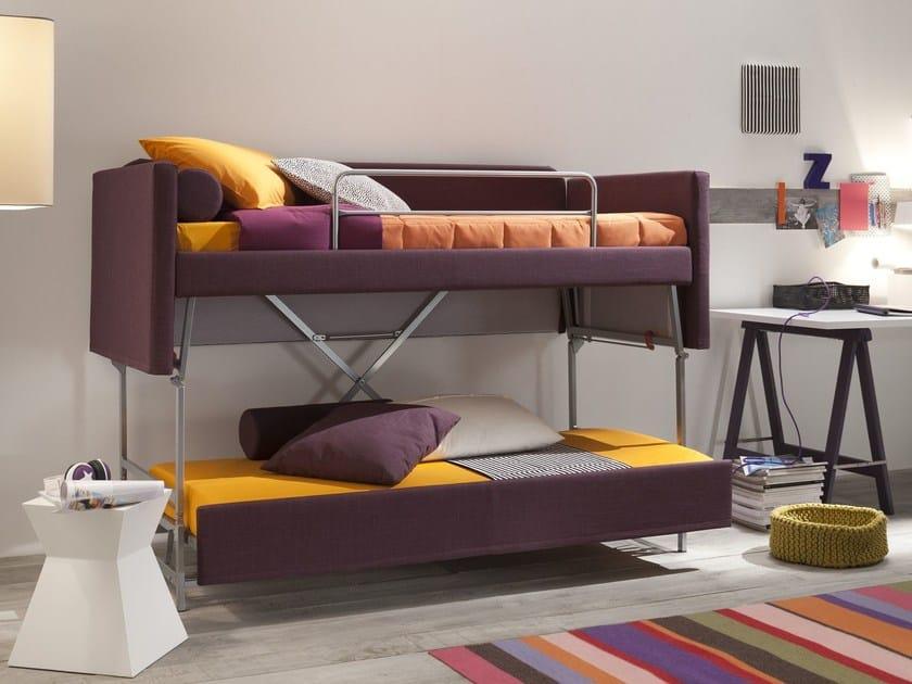 Fabric sofa bed HANS by Felis