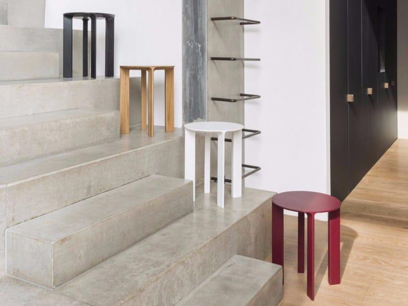 Solid wood stool HANS - Schönbuch
