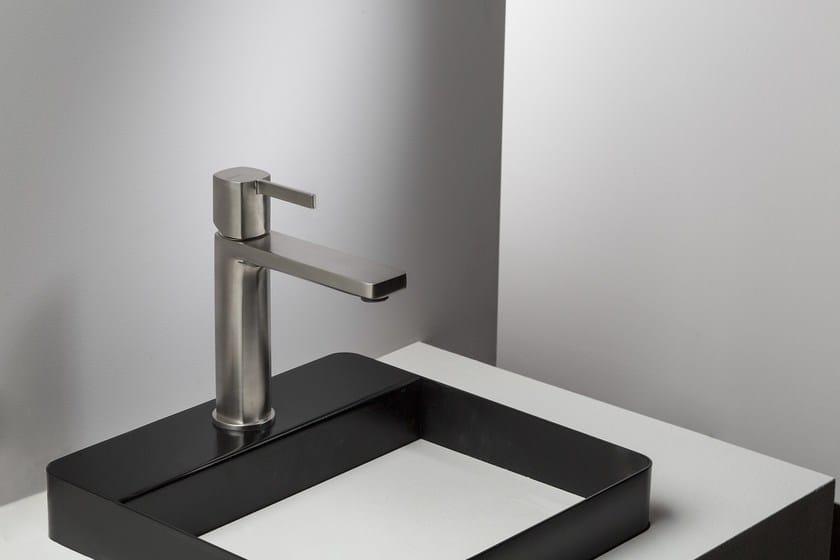 Miscelatore lavabo con comando con leva HAPTIC   Miscelatore monocomando lavabo - RUBINETTERIE RITMONIO