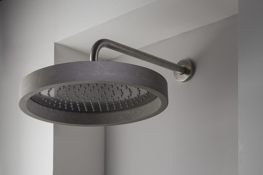 is HAPTIC brushed with cover for shower head