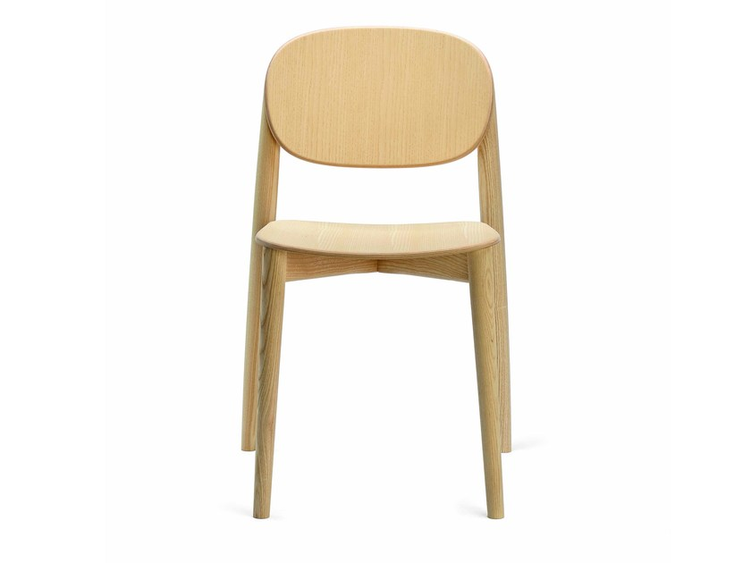Stackable wooden chair HARMO | Wooden chair by Infiniti