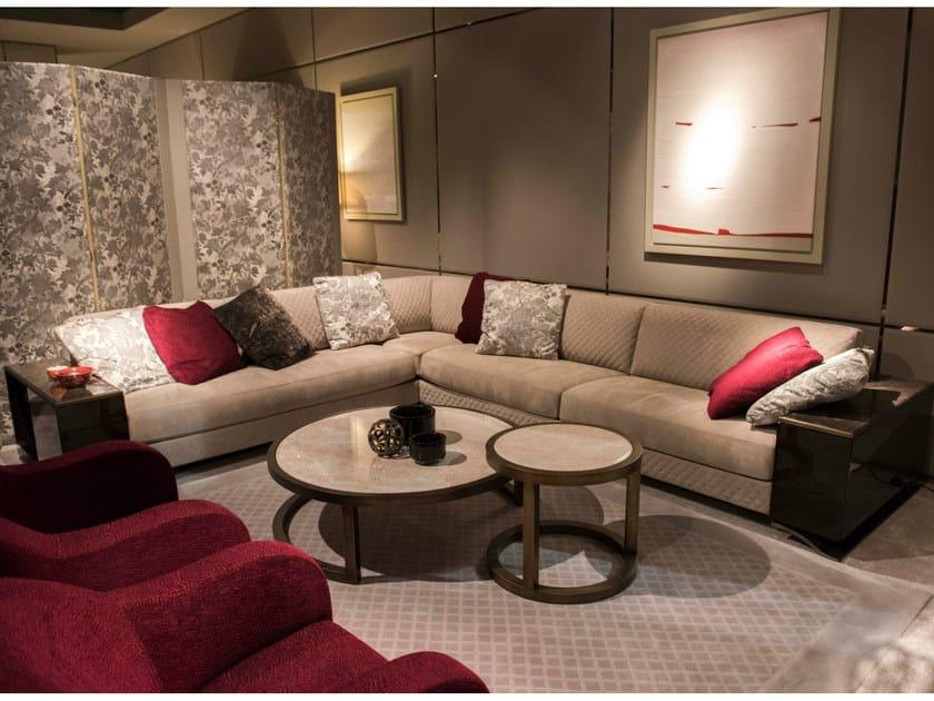 Corner fabric sofa HAUSSMANN | Sofa - HUGUES CHEVALIER
