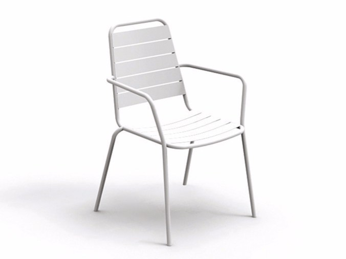 Garden chair with armrests HAVANA | Chair with armrests - Talenti
