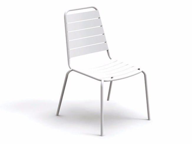 Steel garden chair HAVANA | Garden chair - Talenti
