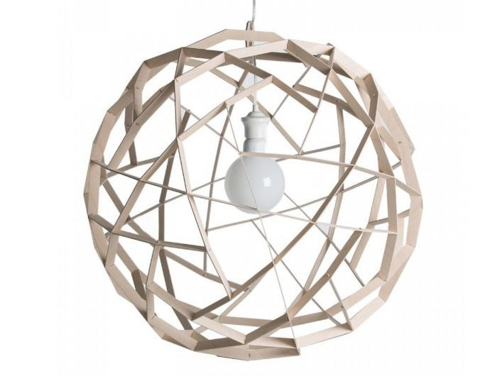 Plywood pendant lamp HAVAS 70 - SHOWROOM Finland