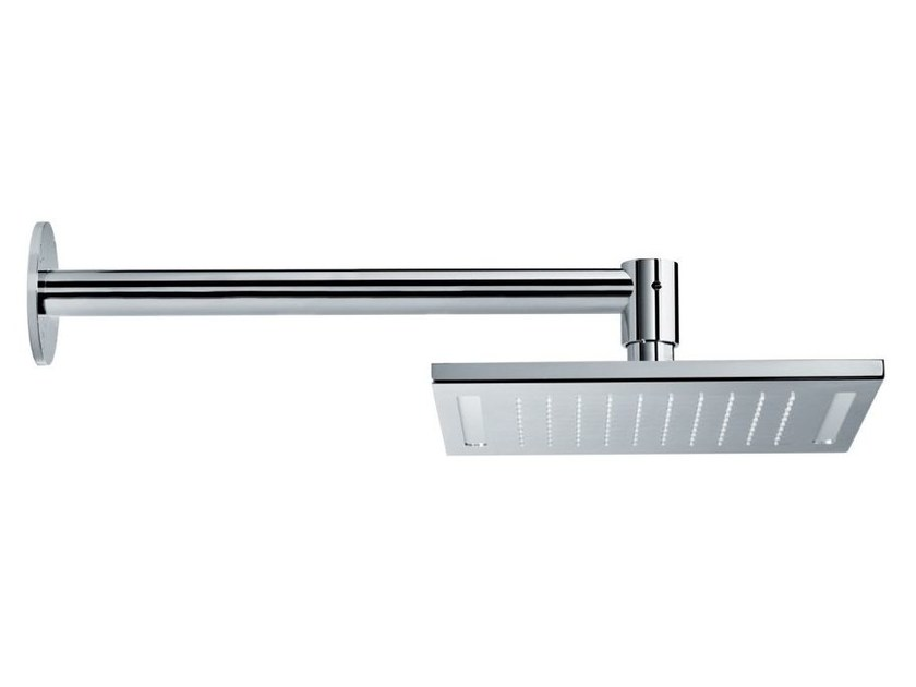 Wall-mounted overhead shower with arm with built-in lights HEAD SHOWERS | Overhead shower with built-in lights - NEWFORM