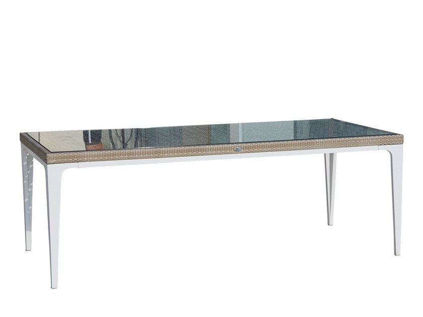 Rectangular table HEART 23071.1 - SKYLINE design