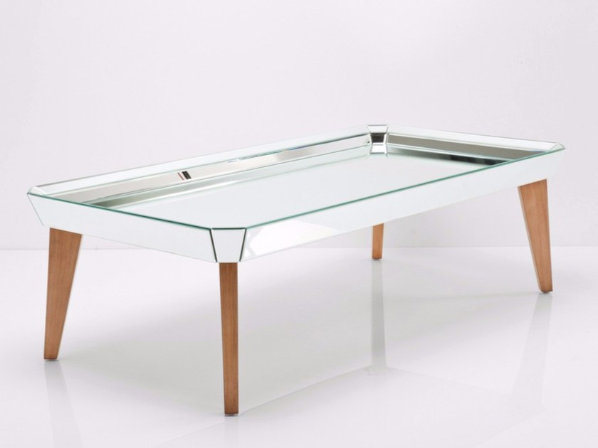 Rectangular coffee table with tray HEAVEN + EARTH | Coffee table - KARE-DESIGN