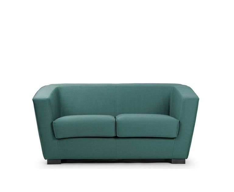 2 seater leather sofa HEBE   2 seater sofa - True Design