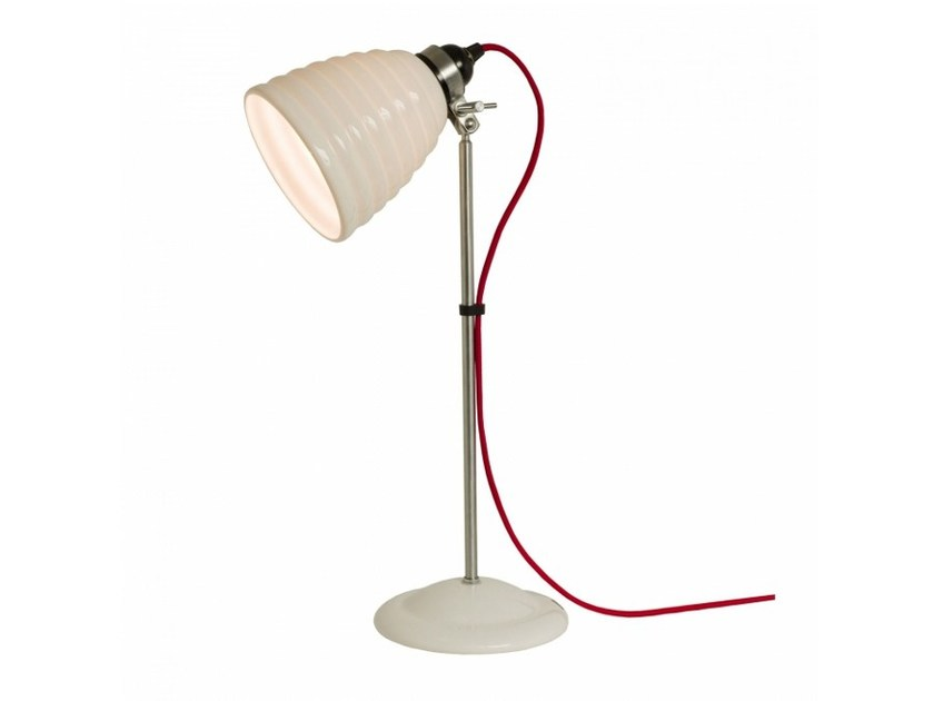 Adjustable porcelain table lamp HECTOR BIBENDUM | Table lamp by Original BTC