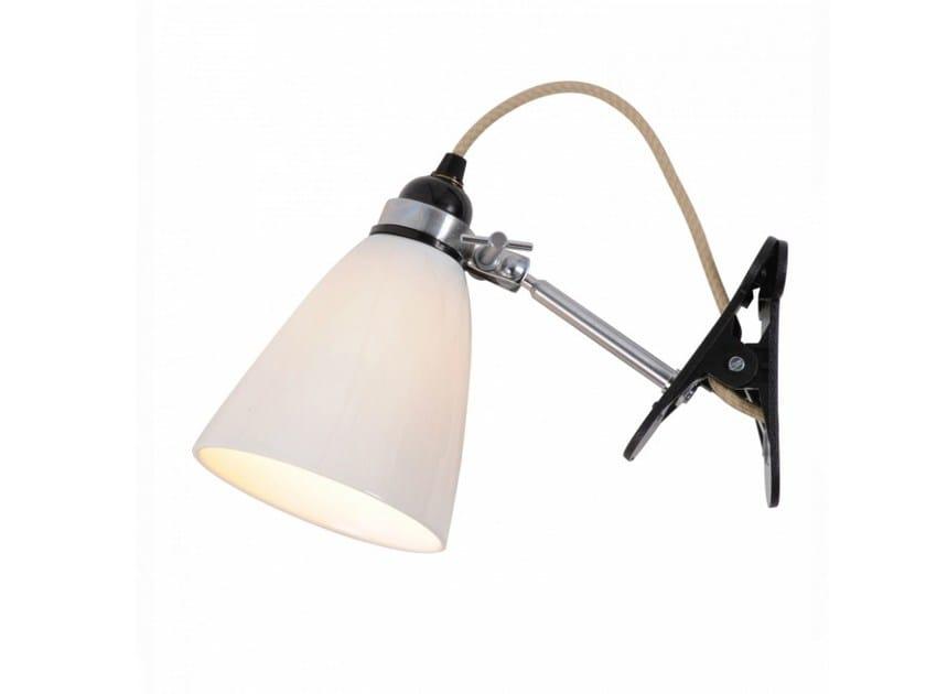 Adjustable porcelain clamp light HECTOR MEDIUM DOME CLIP | Clamp light - Original BTC