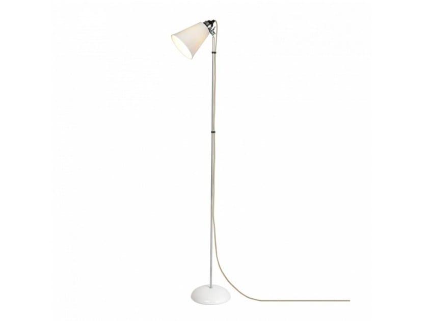 Adjustable porcelain floor lamp HECTOR MEDIUM FLOWERPOT | Floor lamp - Original BTC
