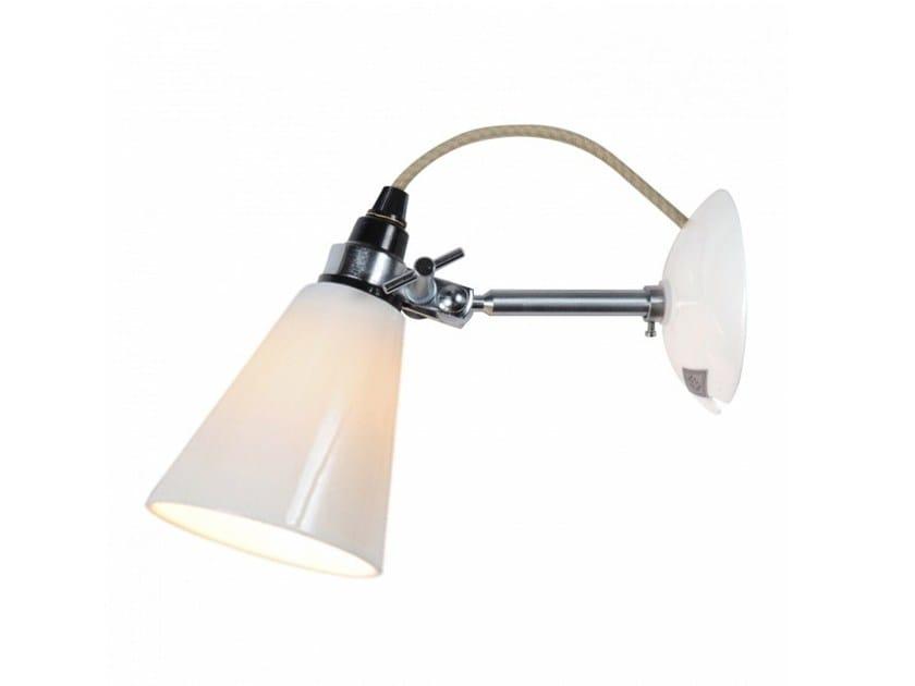 Fluorescent adjustable porcelain wall lamp HECTOR SMALL FLOWERPOT | Wall lamp by Original BTC