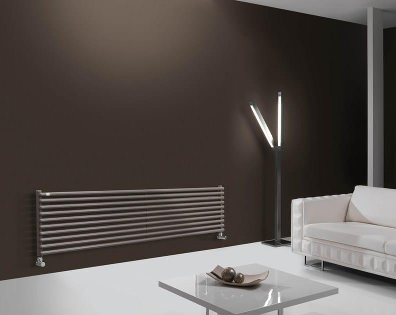 Hot-water horizontal decorative radiator HEGOLINE 23 | Horizontal decorative radiator by DELTACALOR