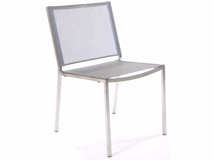 Stainless steel garden chair HELIX | Garden chair - FISCHER MÖBEL