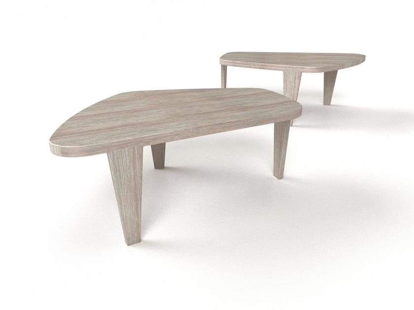 Tavolino ovale in alluminio HELSINKI | Tavolino - Sérénité Luxury Monaco