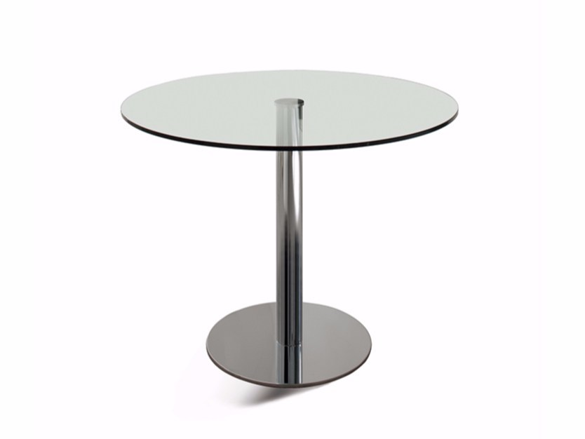 Round crystal table HENRY - Cattelan Italia