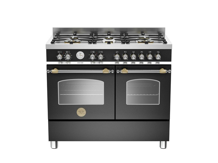 Professional cooker HERITAGE - HER100 6 MFE D by Bertazzoni