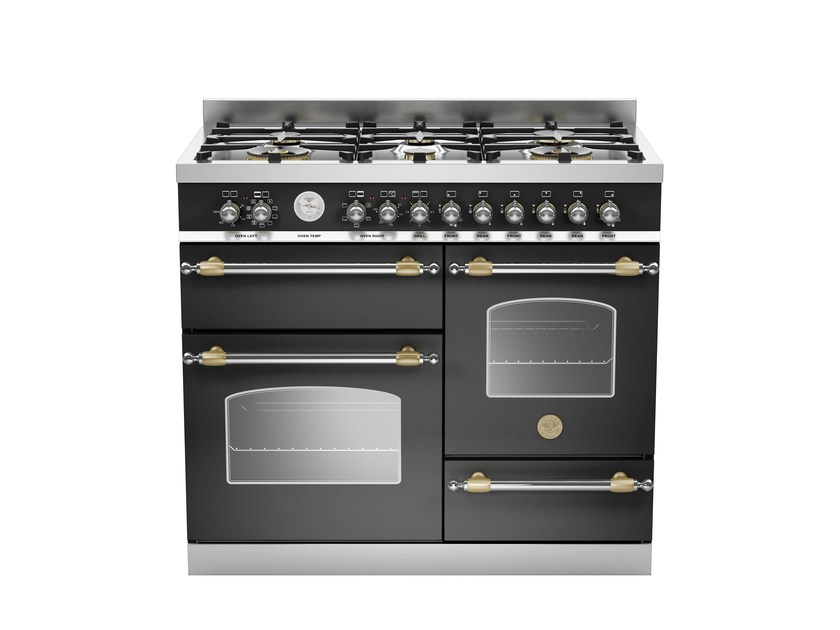 Professional cooker HERITAGE - HER100 6 MFE T by Bertazzoni