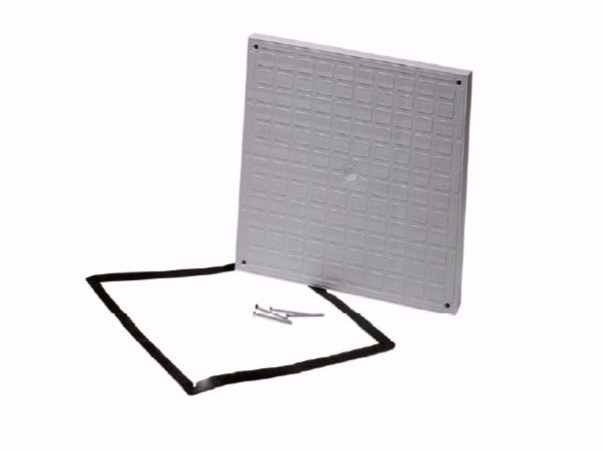Manhole cover and grille for plumbing and drainage system HERMETIC COVER by Dakota