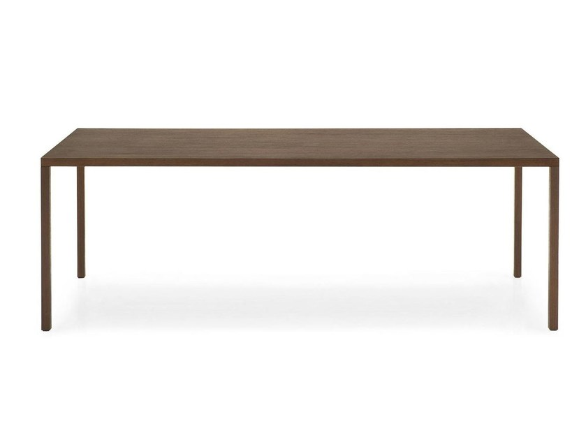 Rectangular wooden table HERON WOOD - Calligaris