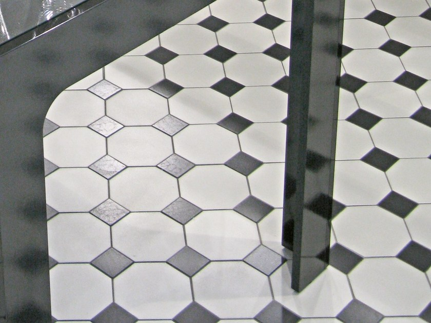 Indoor/outdoor full-body porcelain stoneware flooring HEX - OCTAGON - ETRURIA design